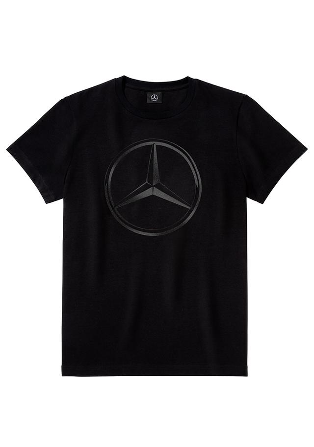 Men's Mercedes-Benz Cotton T-Shirt - Mercedes-Benz (MBM-519-BK-)