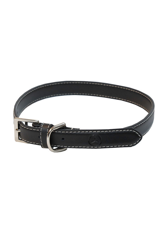 Small Leather Pet Collar - Mercedes-Benz (MHP-346-SM)