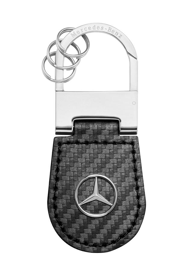 Carbon Fiber Key Ring - Mercedes-Benz (MBK-332)