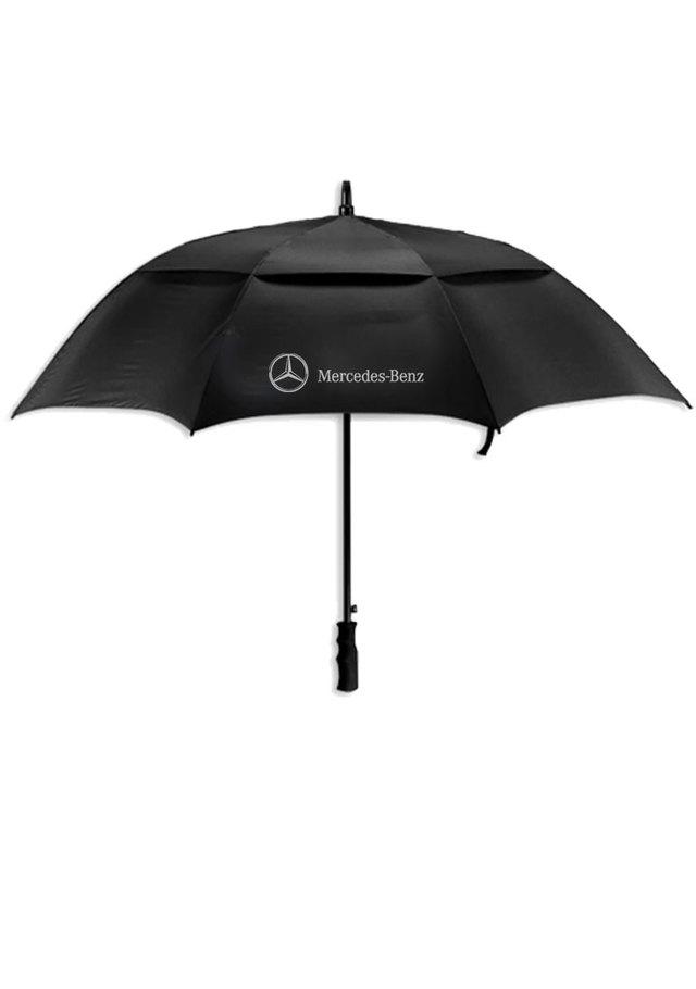 Mercedes-Benz Auto Open Vented Golf Umbrella - Mercedes-Benz (MHP-176-BK)