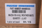 Floor Mats, All Weather - Mazda (00008BK02A)