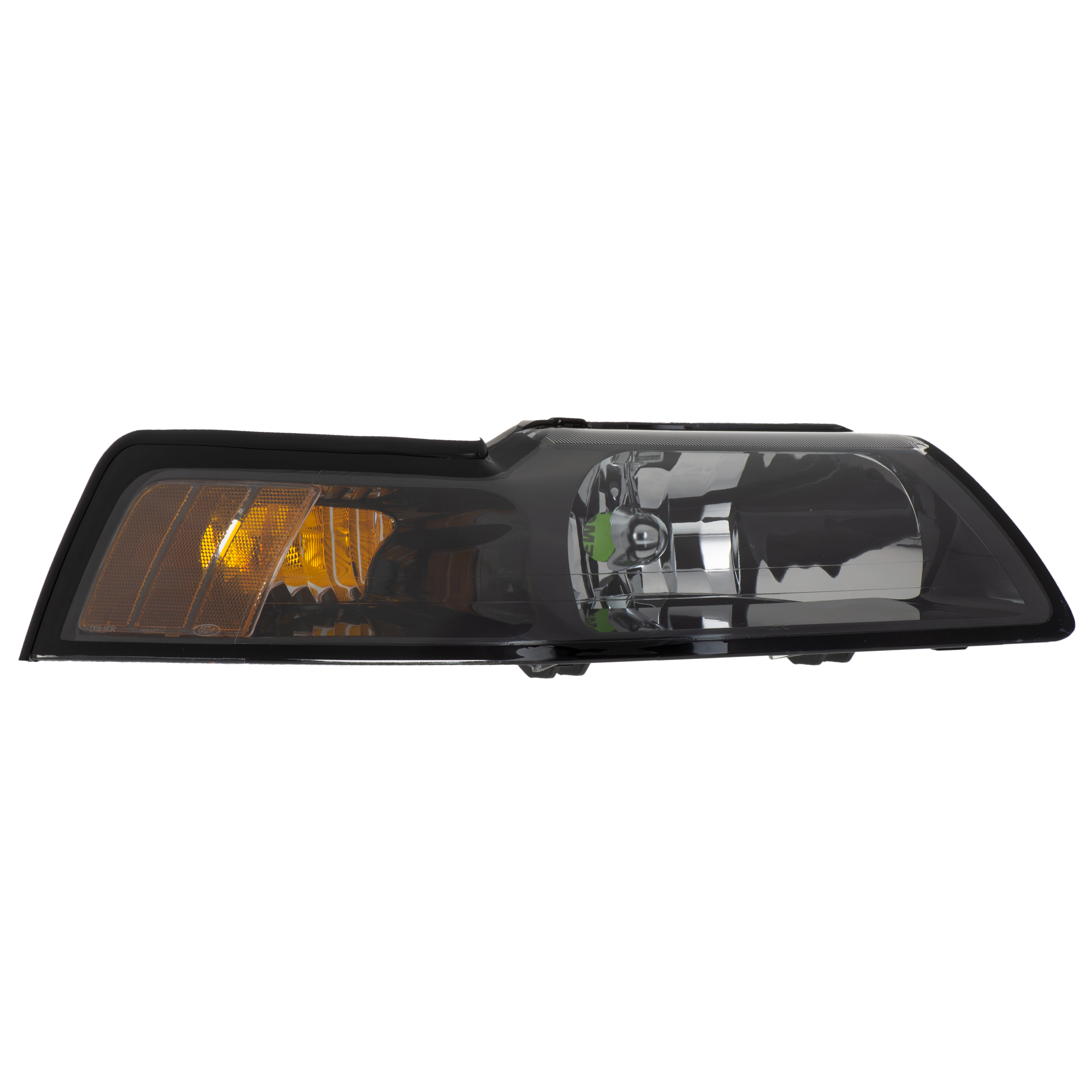 2001-2004 Ford Mustang RH Passenger Side Headlight Smoke Colored OEM NEW Genuine - Ford (3R3Z-13008-CA)