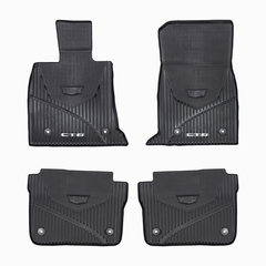OEM NEW Front & Rear All Weather Floor Mats w/CT6 Logo 16-18 Cadillac 84025489 - GM (84025489)