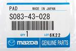 Pedal Pad - Mazda (S08343028)