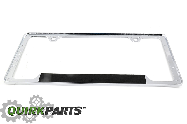 License Plate Frame, Chevrolet, Chrome - GM (19330378) | Quirk Parts