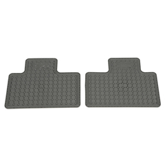 Chevy Colorado GMC Canyon Rear All Weather Floor Mats OEM NEW Genuine - GM (12499086)