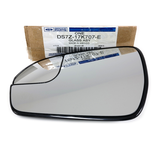 2013 2014 2015 Ford Fusion Left Driver Side View Power Mirror Glass