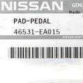 Pad-Pedal - Nissan (46531-EA015)