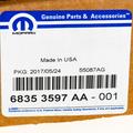 Brake Pads - Mopar (68353597AA)