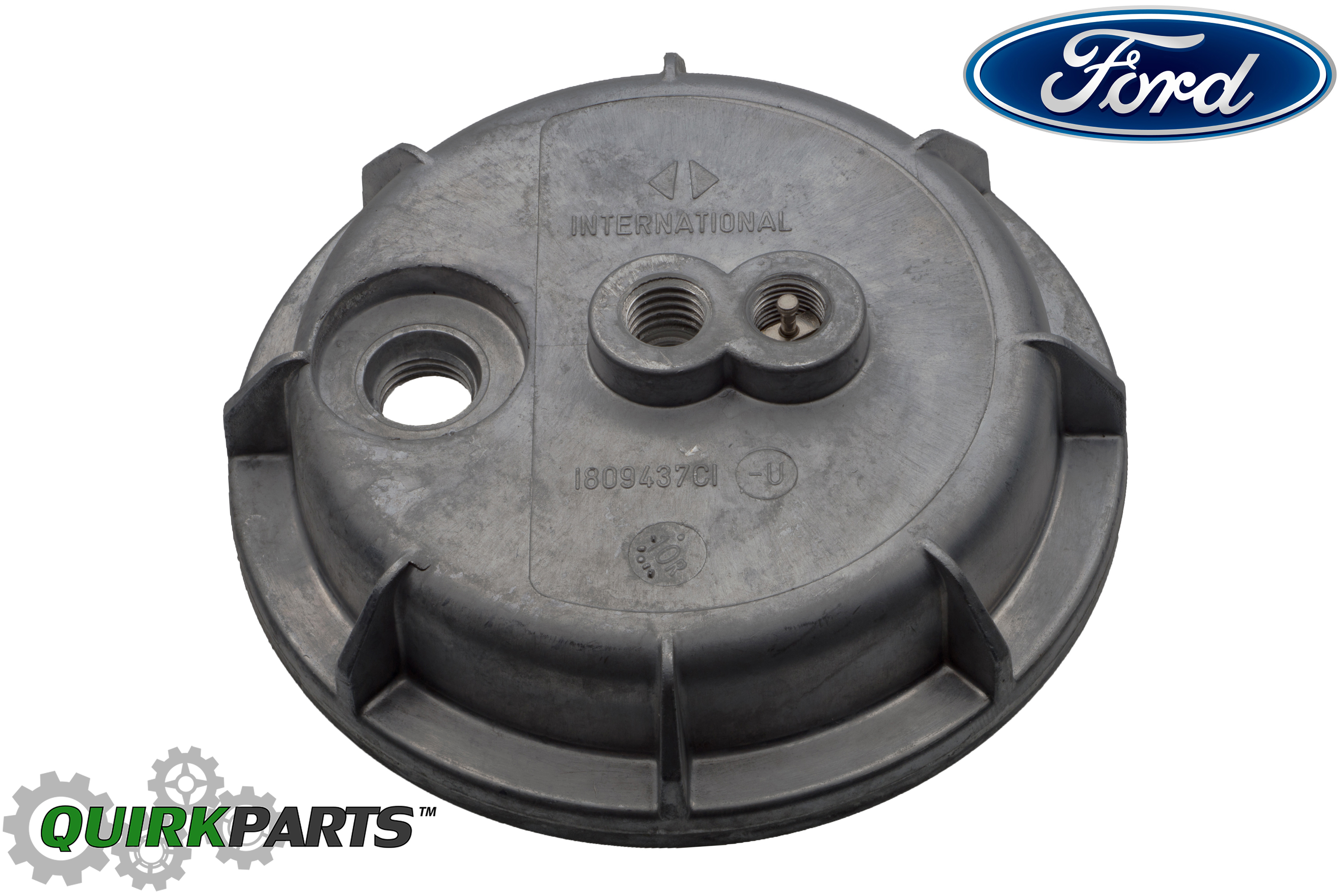 ford 7 3l diesel idi fuel filter housing bottom lower cap cover oem  e8tz9a343a - ford (e8tz-9a343-a)