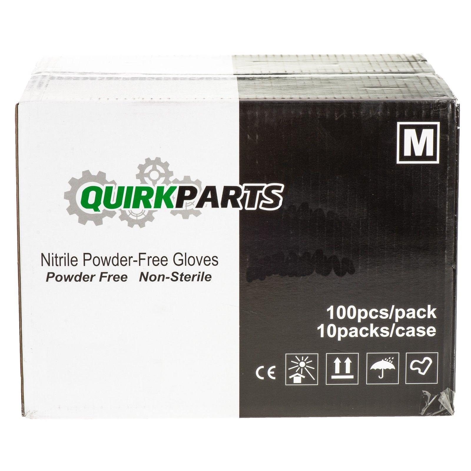 NEW Case Of 1000 Blue Nitrile Powder Free Disposable Non-Sterile Medium Gloves - Mopar (11321-10)