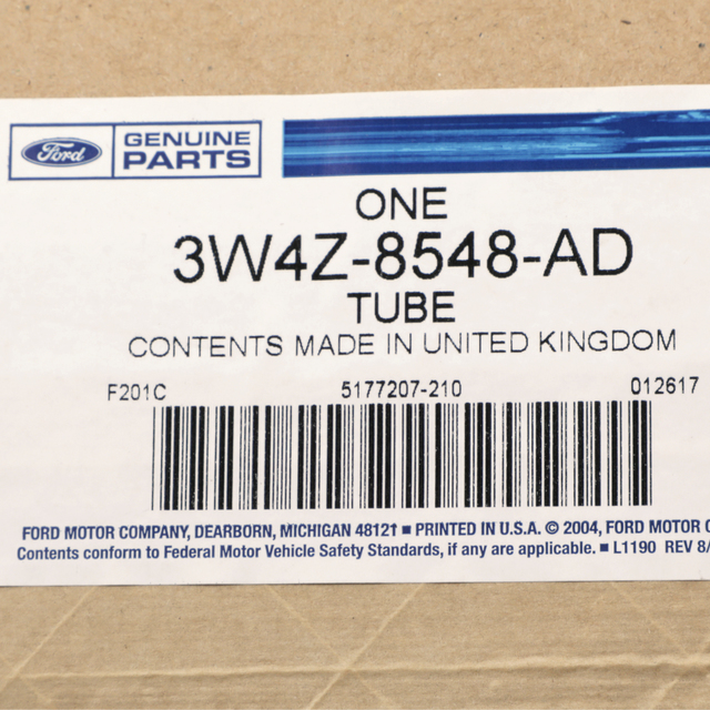 TUBE Ford 3W4Z-8548-AD WATER INLET
