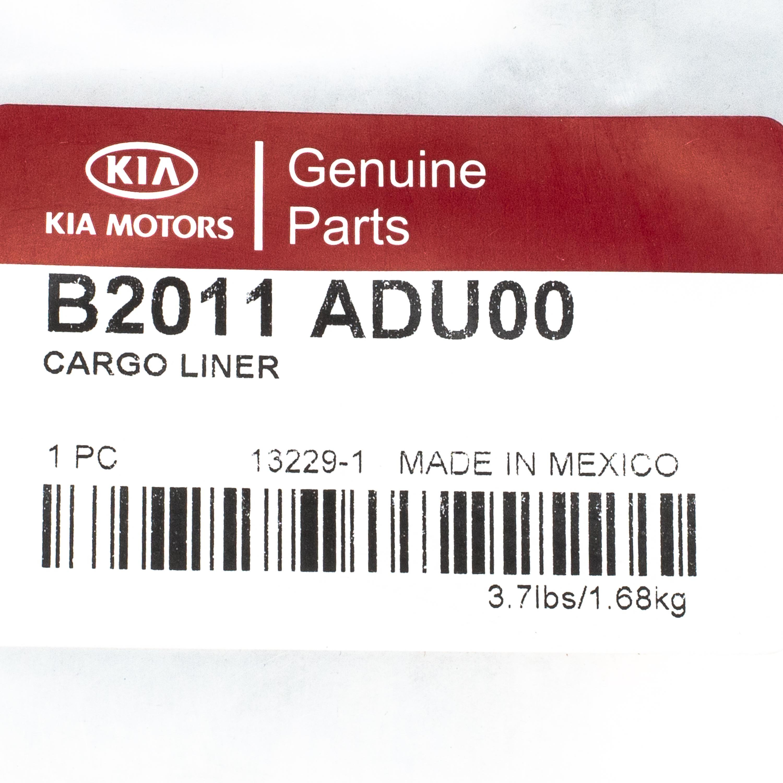 2014 Kia Soul Cargo Liner OEM BRAND NEW Genuine Part # B2011-ADU00 - Kia (B2011-ADU00)