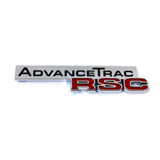 Ford Expedition Explorer Chrome Advance Trac Rsc Rear Lift Gate Emblem Oem New