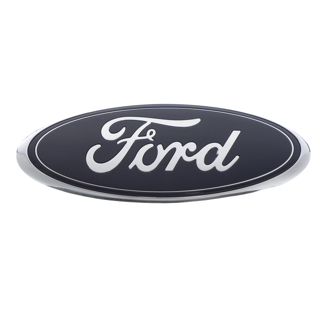 """NEW OEM FORD 12 13 F150 TAILGATE OVAL NAME PLATE CAMERA 7/"""" BLUE CL3Z-9942528-B"""