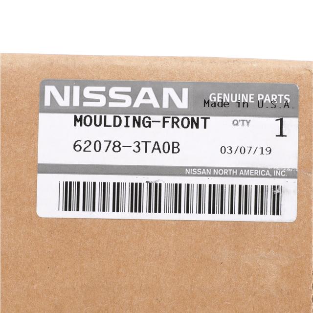Genuine Nissan  2013-2015 Altima Sight Shield 62078-3TA0B