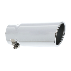 2005-2009 Chevy Equinox Pontiac Torrent Exhaust Tip Chrome with Rolled End OEM - GM (12499344)