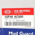 2014 Kia Sorento Front Mud Gaurds OEM BRAND NEW Genuine Part # 1UF46-AC000 - Kia (1UF46-AC000)
