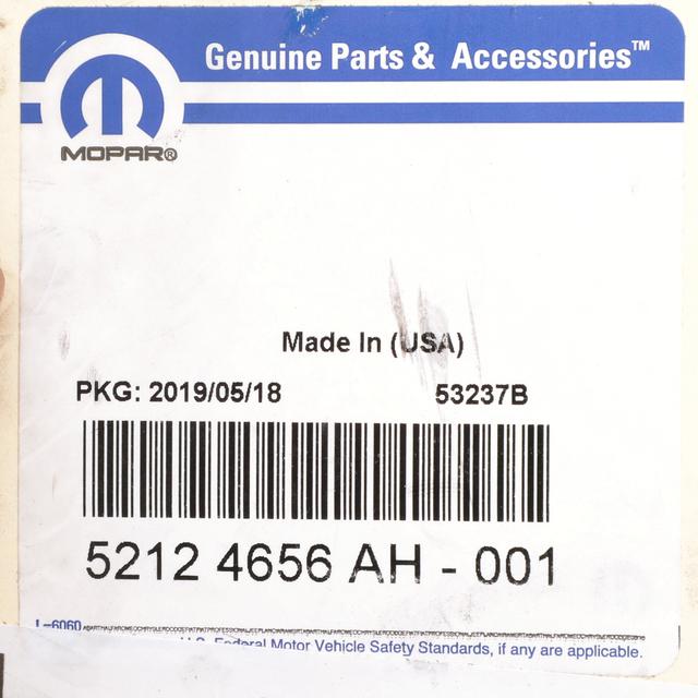 Genuine Chrysler 52124656AG Power Steering Pressure Hose