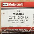 Blower Motor - Ford (XL7Z-19805-EA)