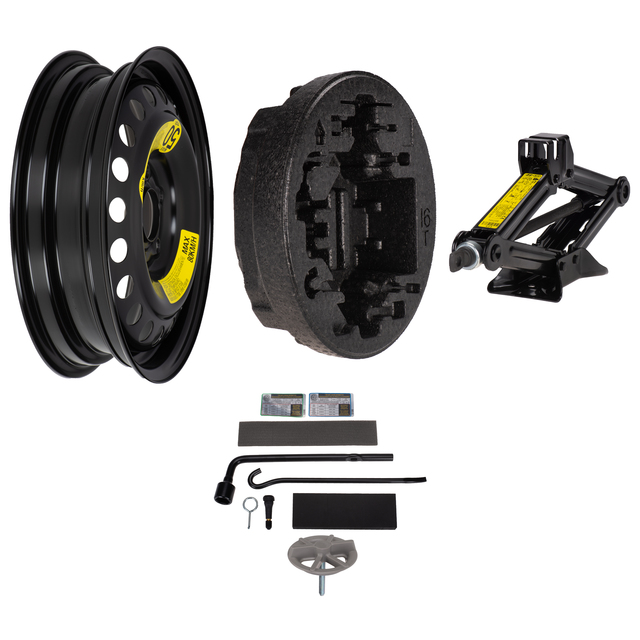 """NEW OEM KIA OPTIMA SPARE TIRE KIT 2016-2018 TIRE NOT INCLUDED 16/"""" 17/"""" WHEELS"""