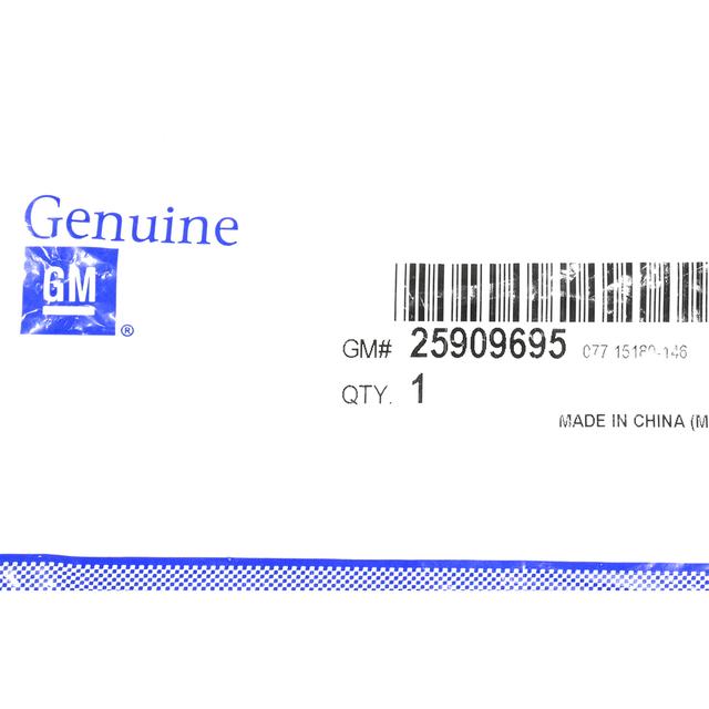 2007-2014 CHEVROLET SILVERADO GMC SIERRA VORTEC EMBLEM NEW OEM 25909695