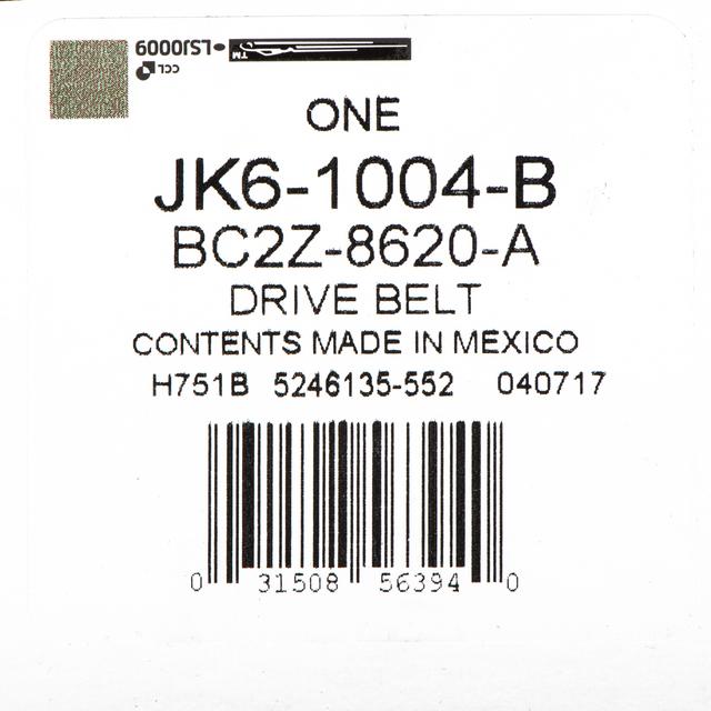 Automotive V Belts Ford Genuine Parts BC2Z-8620-A V-Belt ...