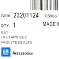 Floor Mats, All Weather - GM (23201124)