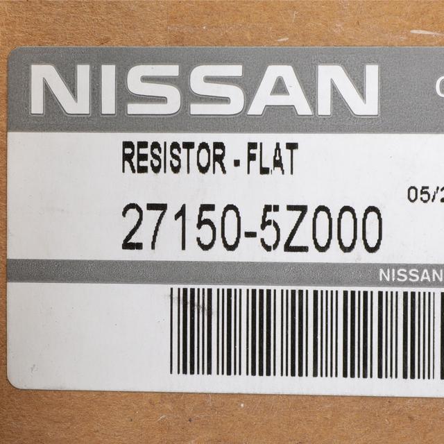 Genuine Nissan 27150-5Z000 Blower Motor Resistor
