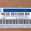 Floor Mats, All-Weather - Ford (HC3Z-2613300-KA)
