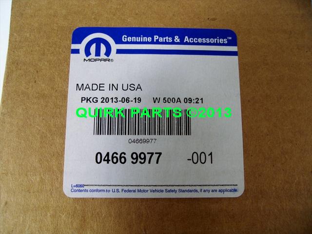 05-08 Chrysler Dodge Cruise Control Servo OEM NEW MOPAR GENUINE PART #  4669977