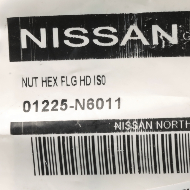 Genuine Nissan Rear Rocker Molding Nut 01225-N6031