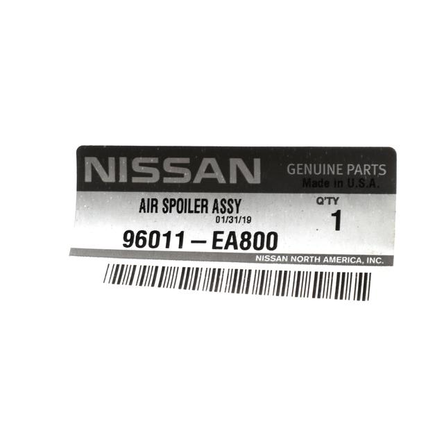 Genuine Nissan Front Bumper Air Dam Spoiler 96011-EA800