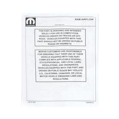 Cold Air Intake - Mopar (77072428AB)