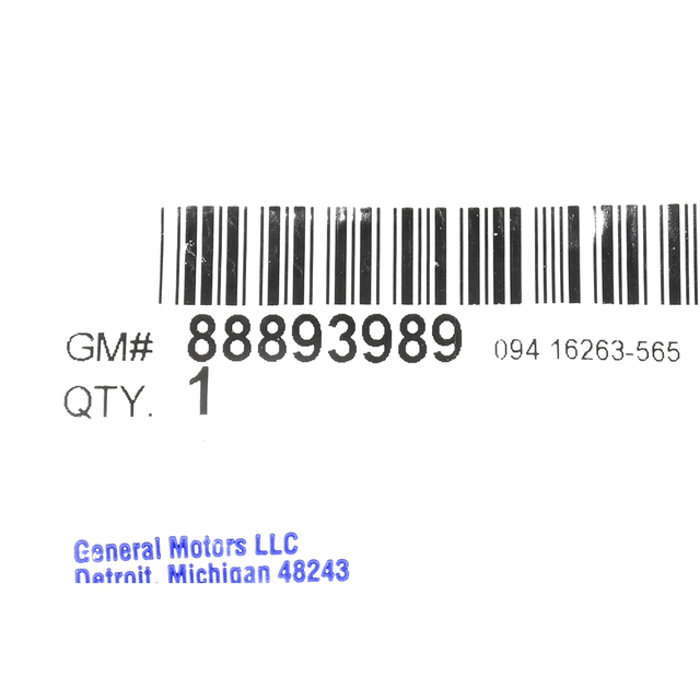 88893989 Gasket Kit General Motors