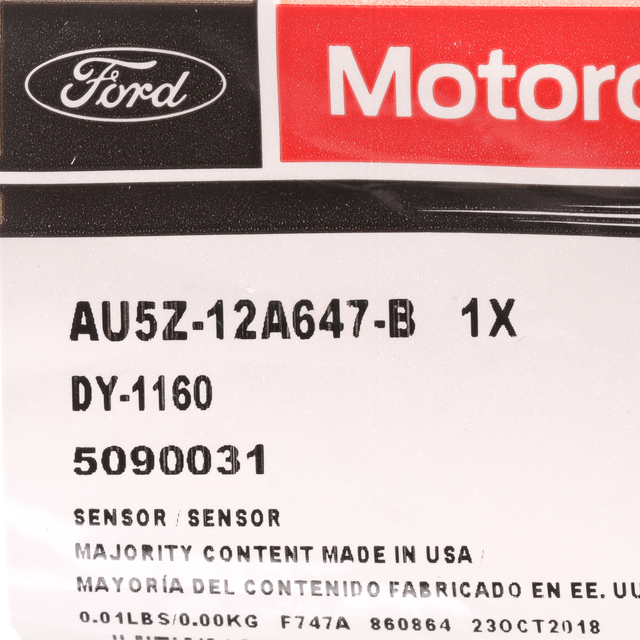 Ford Lincoln Ambient Temp Air Temperature Sensor OEM NEW Motorcraft DY1160