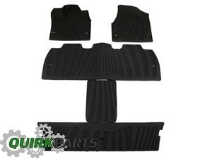 All-Weather Floor Mats, Black - Mopar (82214515AD)
