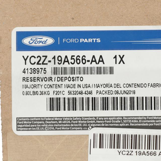 Ford YC2Z-19A566-AA RESERVOIR VACUUM