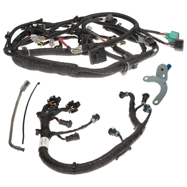 Ford F250 F350 OEM 2003-2004  SD Engine Block Wiring Assembly 3C3Z-6B018-AA