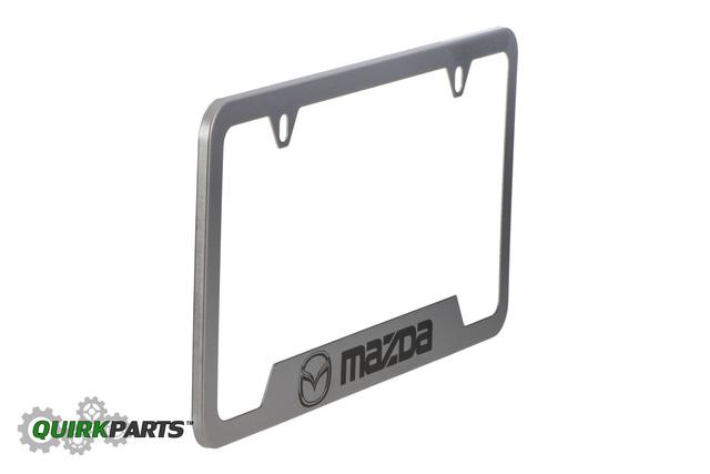 License Plate Frame W/ Mazda Logo - Mazda (0000-83-Z32) | Quirk Parts