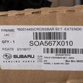 Extended Cross Bar Set Aero - Subaru (SOA567X010)