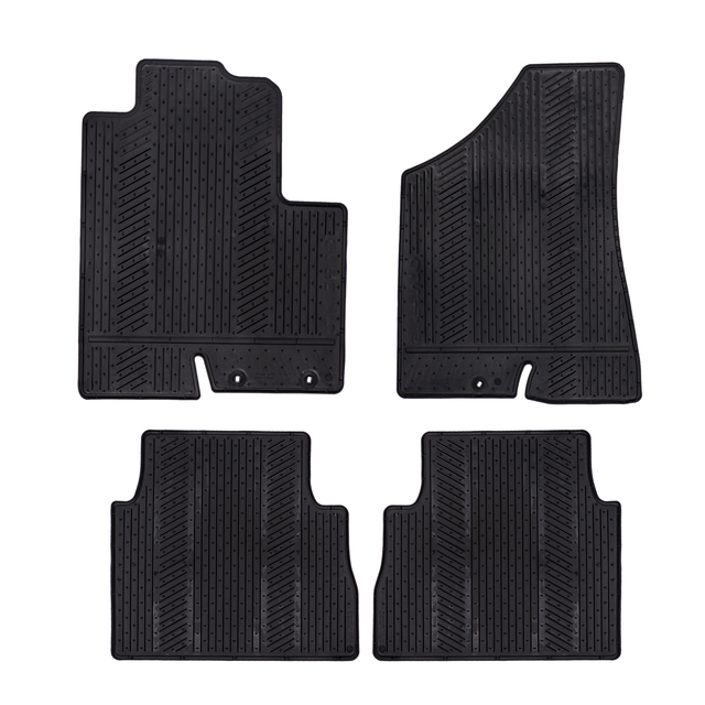 2012 2013 Kia Sorento Front And Rear All Weather Floor Mats Black OEM NEW