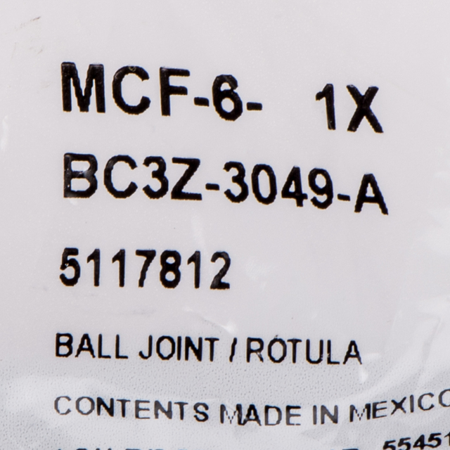 Ball BC3Z-3049-A Genuine Ford Joint Assembly