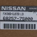 NEW OEM NISSAN 2004-2006 TITAN/ARMADA CENTER DASH / RADIO AC BEZEL -W SPKR BEZEL - Nissan (68257-7S000)