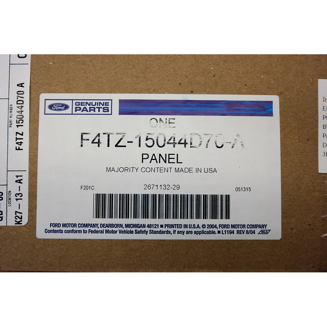 Genuine Ford Cluster Bezel F4TZ-15044D70-A