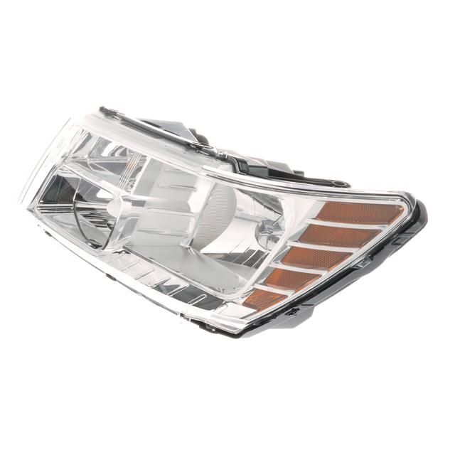 Driver side WITH install kit -Chrome LED 6 inch 2013 Peterbilt MODEL 367 Side Roof mount spotlight