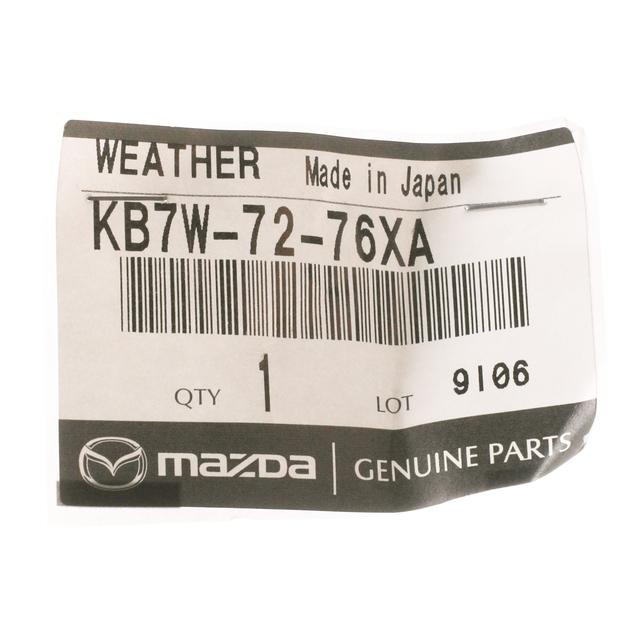 Genuine Mazda Door Shell Seal KB7W-72-76XA