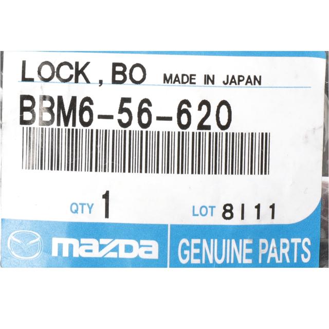 Genuine Mazda Parts BBM6-56-620 Hood Latch