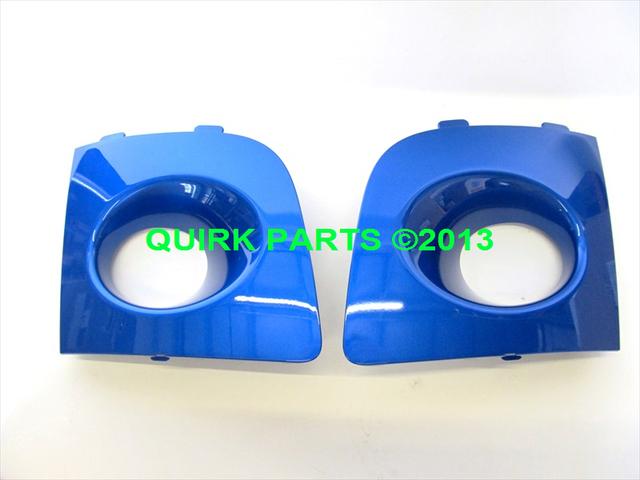OEM 2006-2007 Subaru Impreza Rally Blue Fog Lamp Covers NEW H4518FE100PG - Subaru (H4518FE100PG)