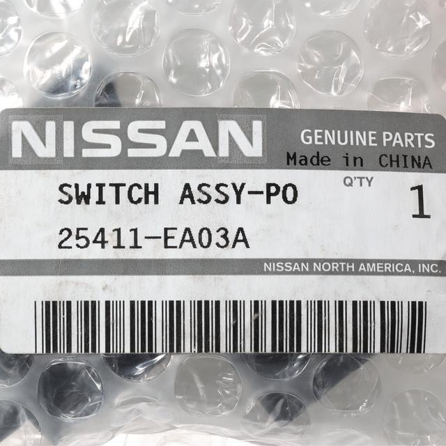 Genuine Nissan 25411-EA03A Power Window Switch Assembly